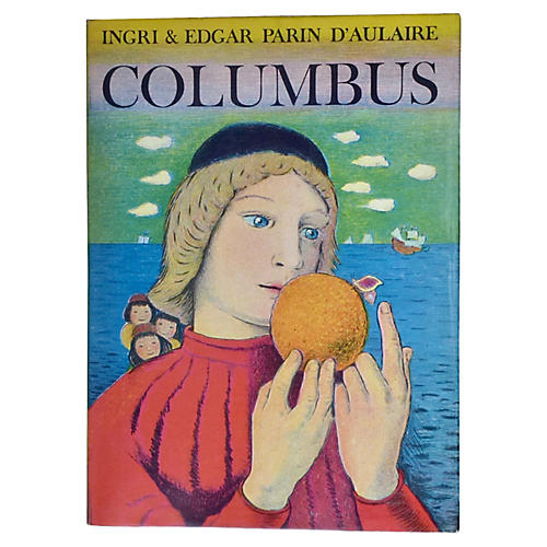 Parin d'Aulaire's Columbus, 1st Printing