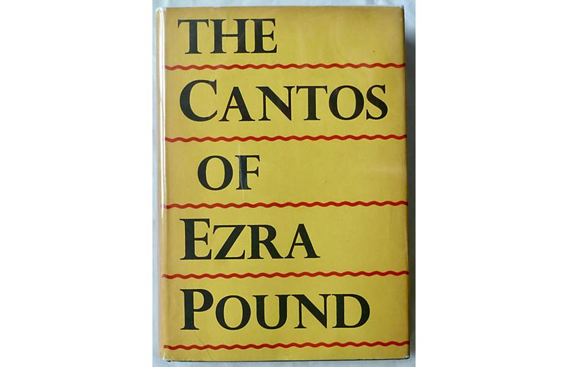 The Cantos of Ezra Pound, UK 1st Print