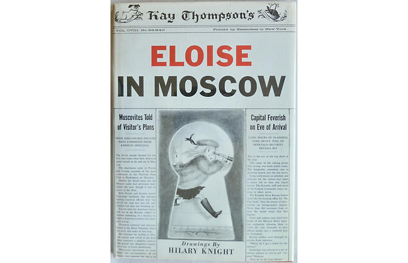 Eloise in Moscow, 1st Printing, 1959