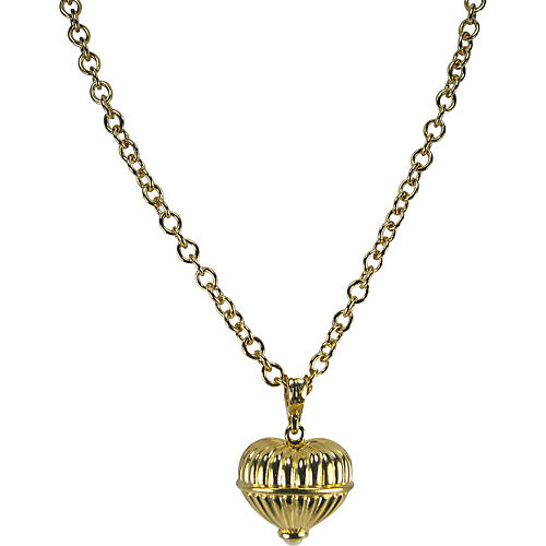 Givenchy Gold & Pearl Finial Necklace