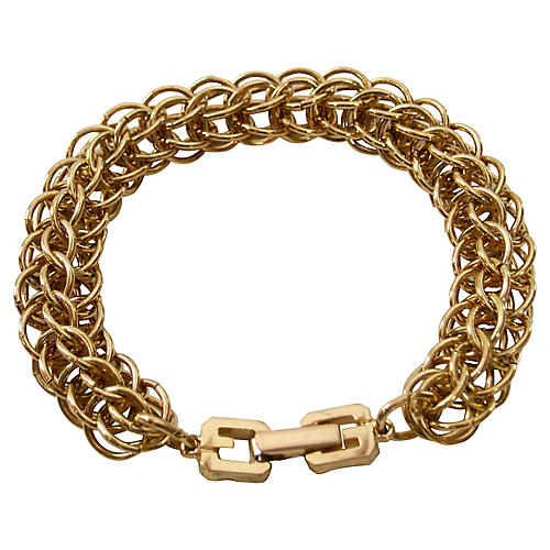 Givenchy Box Link Chain Bracelet