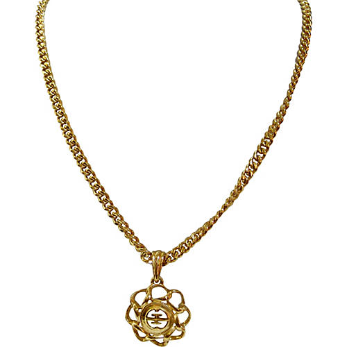 1980s Givenchy Pendant Necklace