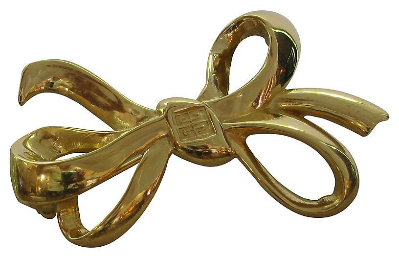 Givenchy Bow Brooch