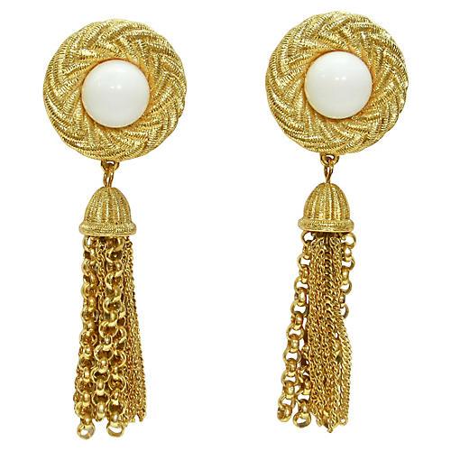 Givenchy Tassel Earrings