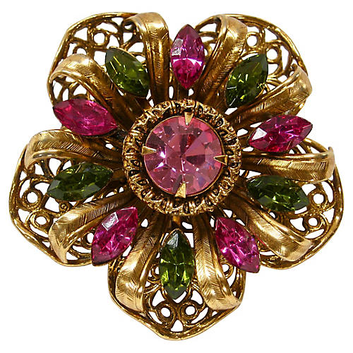 1950s Victorian-Style Brooch