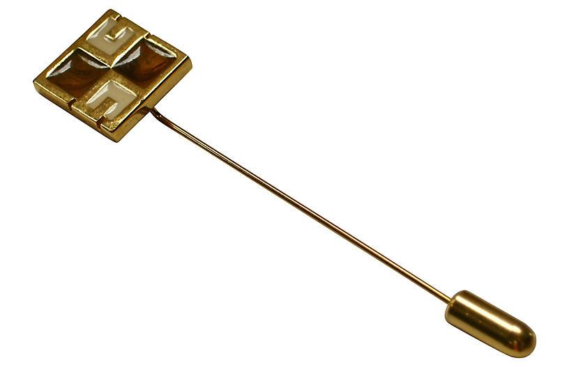 Givenchy Modernist Stick Pin, 1978