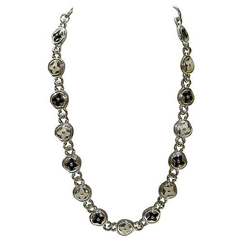 Givenchy Modernist Silver Necklace