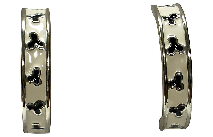 Givenchy Modernist Oversize Earrings