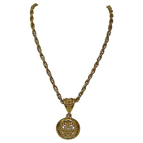 Givenchy Gold Enhancer Necklace