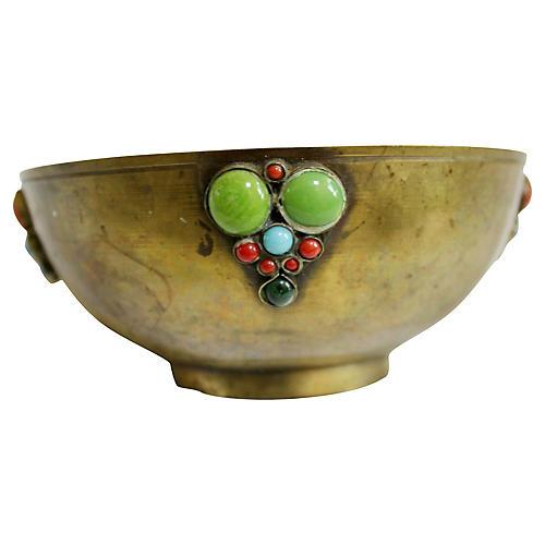 Indian Brass Bowl