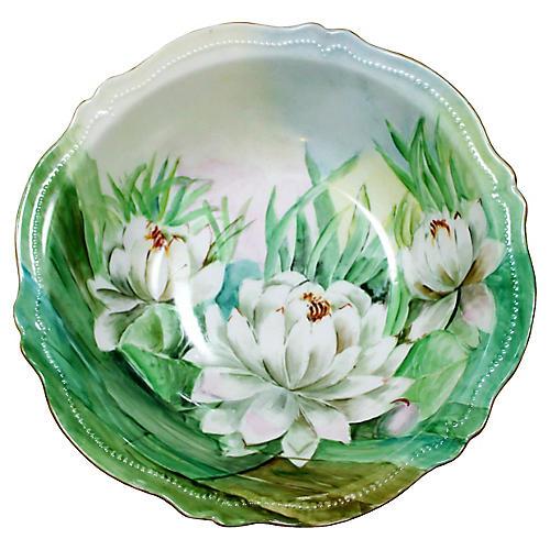 Royal Austria Water Lily Bowl