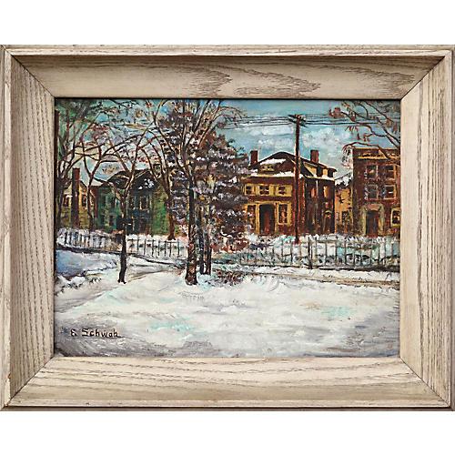 *Winter in Town by Eloisa Schwab