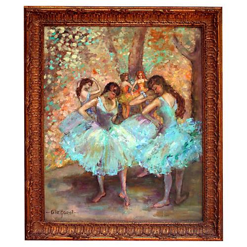 Ballet Dancers by Helen Gleiforst