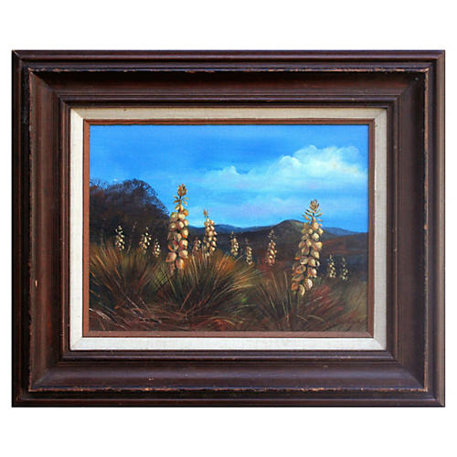 Agave Harvest by W. K. Lee