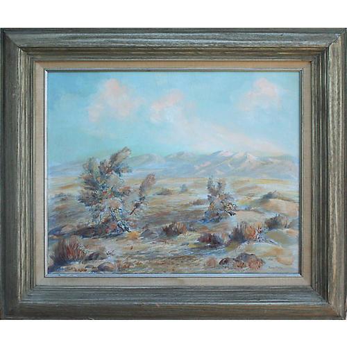 Desert Landscape by Dolores Martin