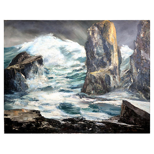 Storm on Farralon Island