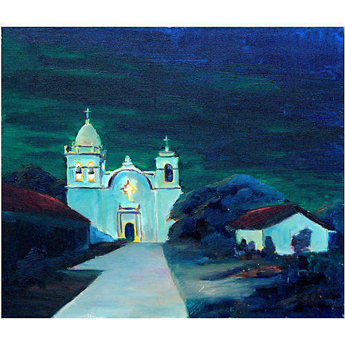 Mission at Night by Edward Bednar