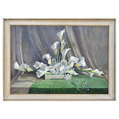 Calla Lilies by Rose Campbell