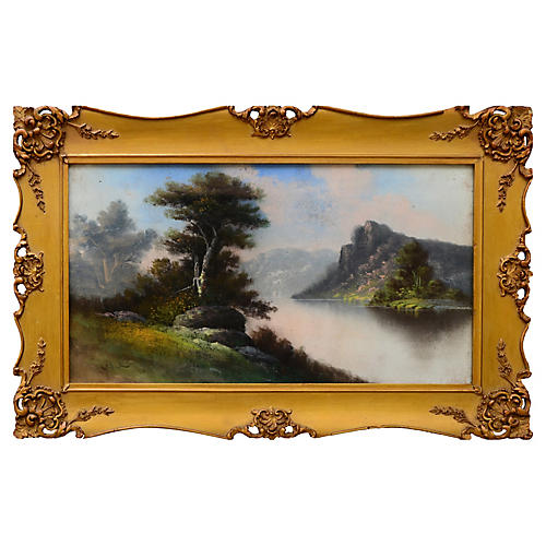 Pastel Scene by William Henry Chandler