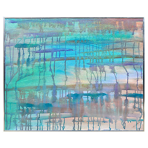 Multicolored Abstract by Sandra LoBue
