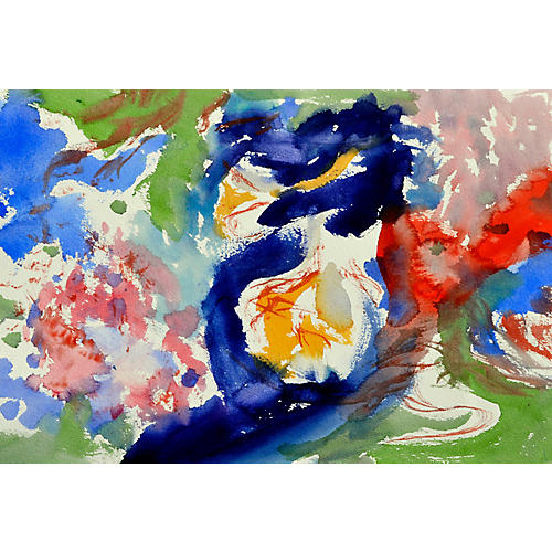 Mixed Colors Abstract