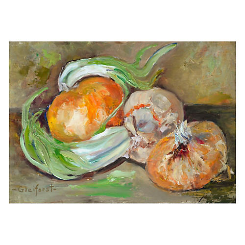 Onions and Garlic by Helen Gleiforst