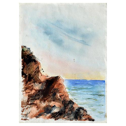 Big Sur Coast by Barbara Bailey