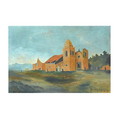 Early 19th C. Carmel Mission