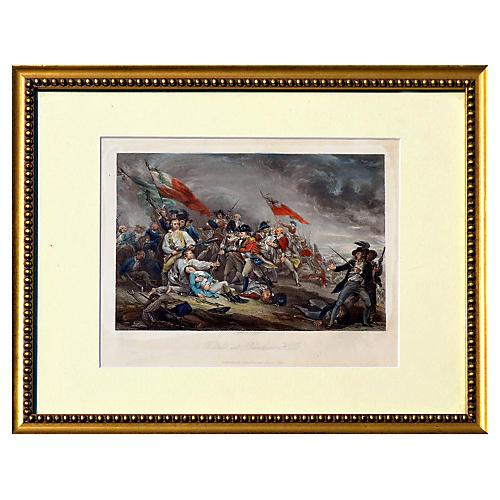 Battle at Bunker's Hill by John Trumbull