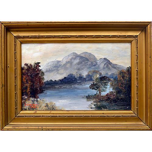 Ben Venue and Loch Achray Scotland
