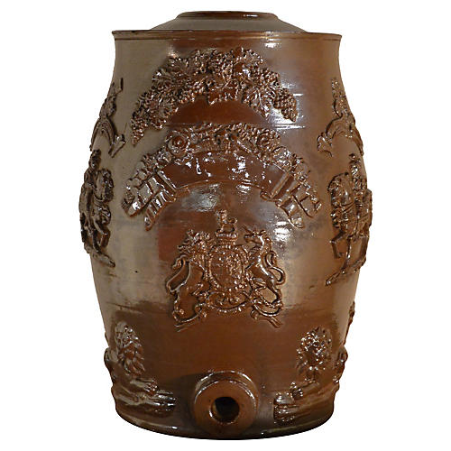 19th-C. English Spirit Barrel