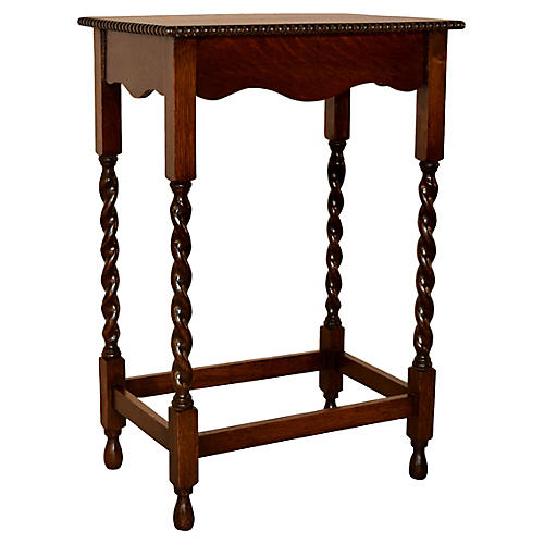 Oak Side Table, circa 1900