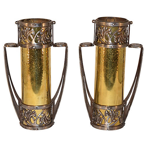 Pair of 19th-C. French Vases