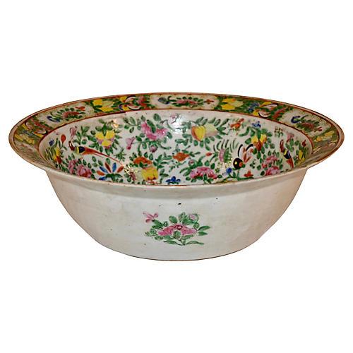 19th C. Export Bowl