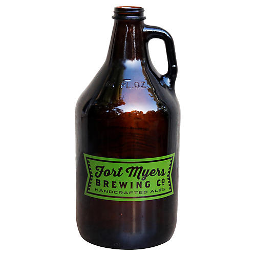Fort Myers Brewing Growler