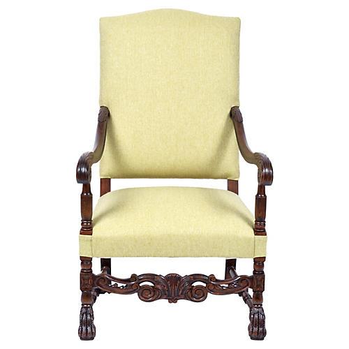 Henry II Renaissance Revival Armchair