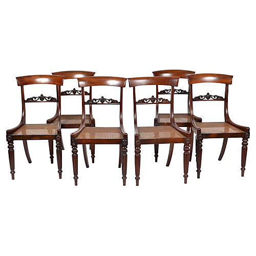 Biedermeier Chairs, S/6