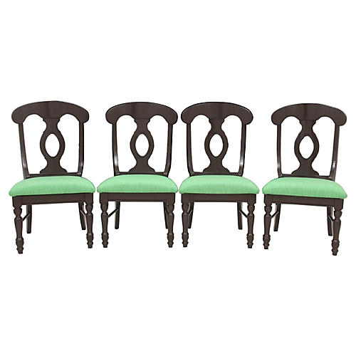 Biedermeier Dining Chairs, S/4