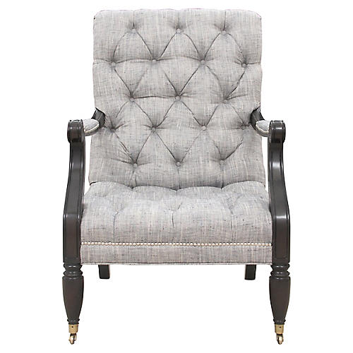 Tufted Traditional Armchair