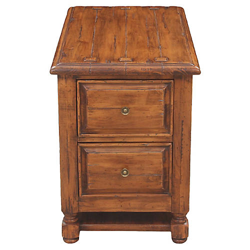 Neoclassical Accent Cabinet