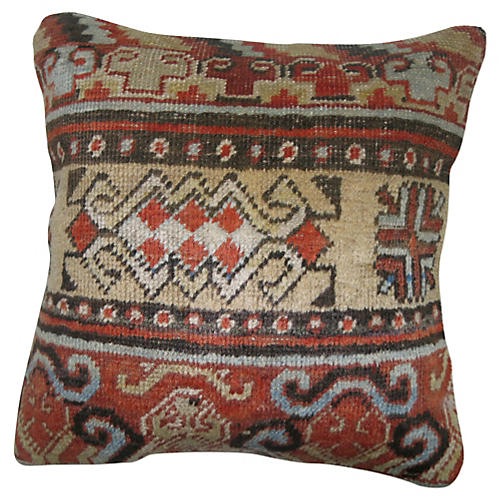 Khotan Fabric Rug Pillow