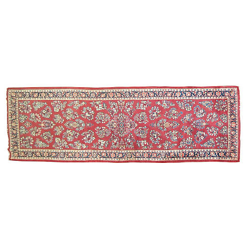 Persian Sarouk Runner, 12'1'' x 3'10''