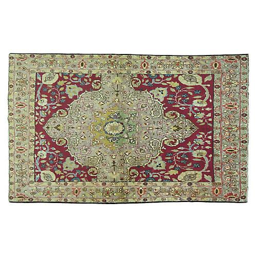 Antique Sivas Rug, 4'4'' x 4'1''