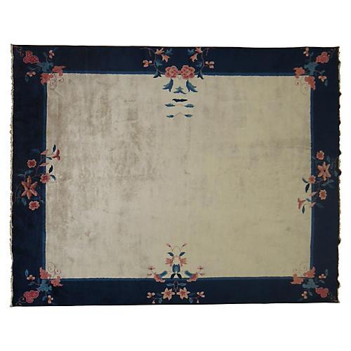 Chinese Art Deco Rug, 8' x 9'11''
