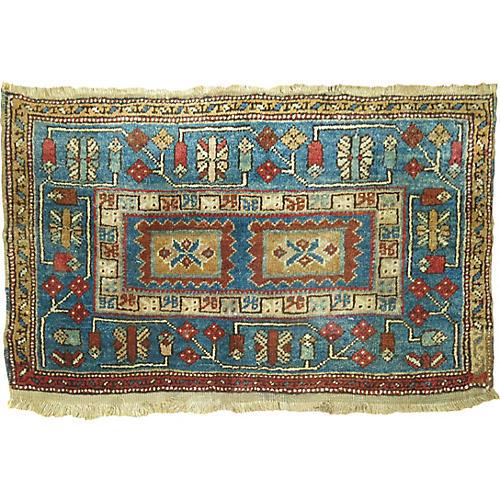 "Persian Serab Rug, 1'10"" x 3'3"""