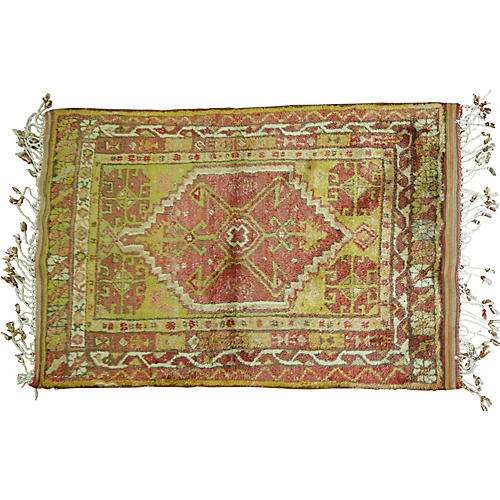 "Anatolian Rug, 3'3"" x 4'8"""