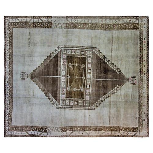 """Oushak Carpet, 10'2"""" x 12'10"""""""