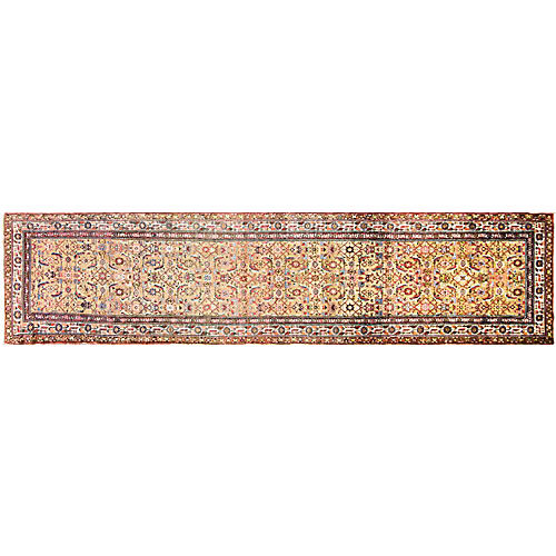 "Persian Malayer, 3'4"" x 14'11"""