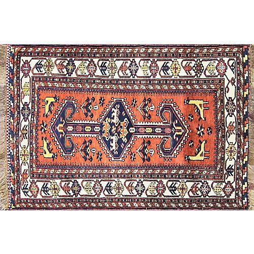 """3'3"""" x 5' Wonderful Persian Qashqai Rug"""
