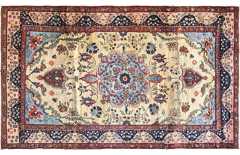 Tabriz Carpet, 6'6